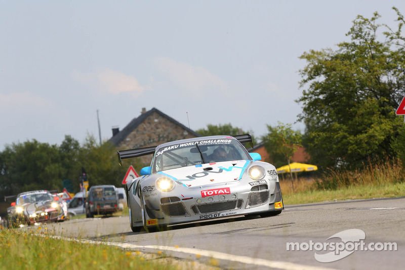#34 Pro GT by Almeras, Porsche 997 GT3R: Eric Dermont, Franck Perera, Philippe Giauque, Morgan Mouli