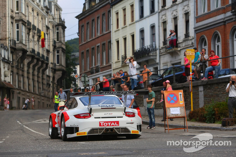 #98 Fach Auto Tech Porsche 997 GT3R: Otto Klohs, Martin Ragginger, Sebastian Asch, Jens Richter