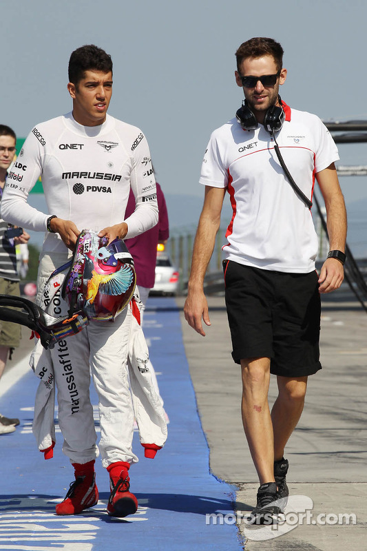 Rodolfo Gonzalez, piloto reserva da Marussia F1 Team com Sam Village, Marussia F1 Team