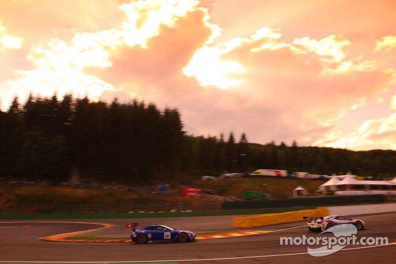 #80 Emil Frey Racing, Aston Martin Vantage GT3: Lorenz Frey, Gabriele Gardel, Fredy Barth