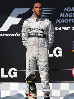 primeiro colocado: Lewis Hamilton, Mercedes