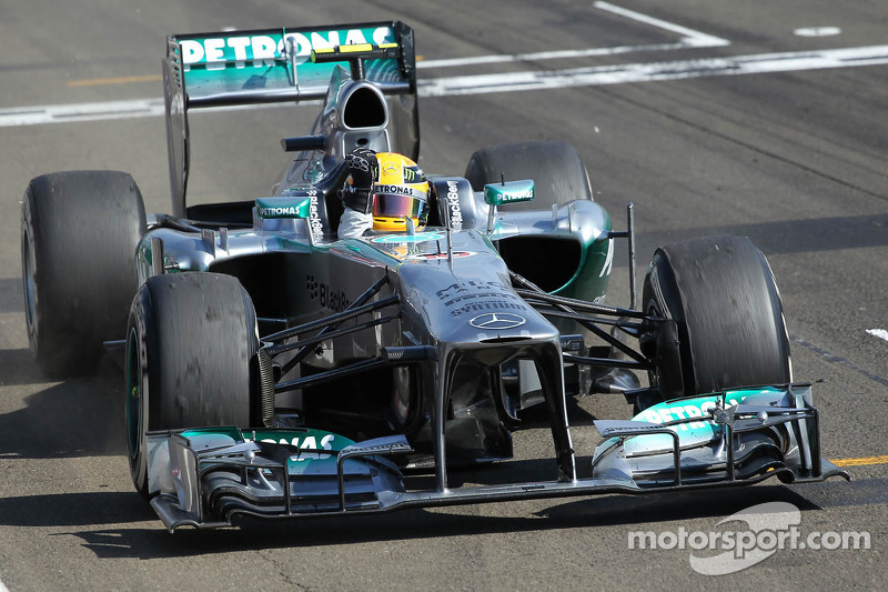 22- Gran Premio de Hungría 2013, Mercedes