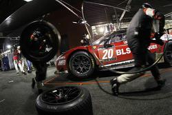 #20 SOFREV ASP Ferrari 458 Italia: Jean-Luc Blanchemain, Jean-Luc Beaubelique, Patrice Goueslard, Fred Bouvy