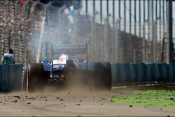 Valtteri Bottas, Williams FW35 retired from the race