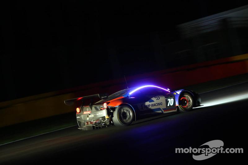 #70 SMP Racing, Ferrari 458 Italia: Alexey Basov, Alexander Skryabin, Alessandro Pier Guidi, Matteo Bobbi