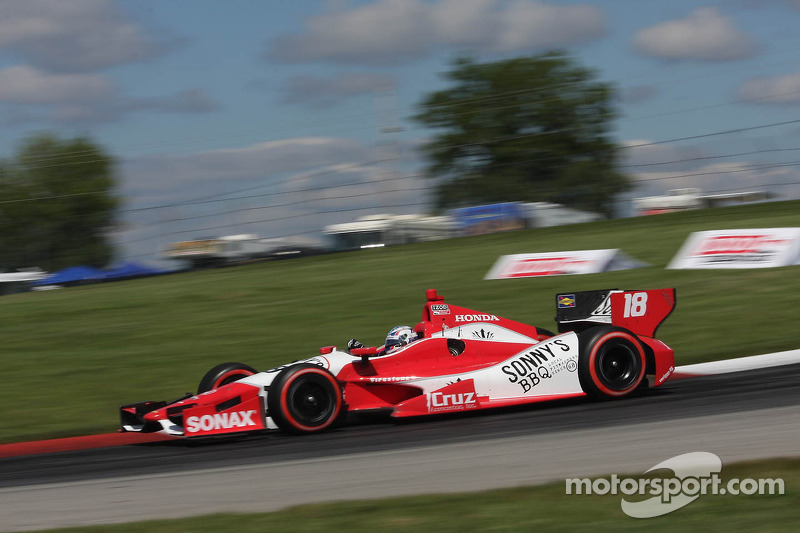 Alex Davison, Dale Coyne Racing Honda