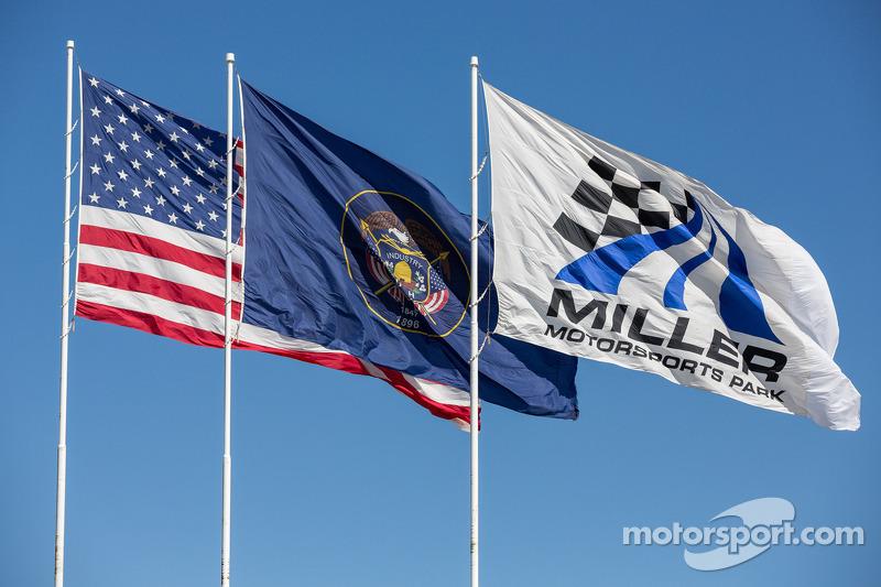 Winderige middag op Miller Motorsports Park