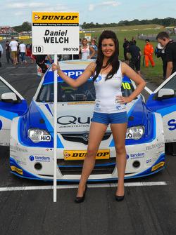 Welch Motorsport Grid Girl