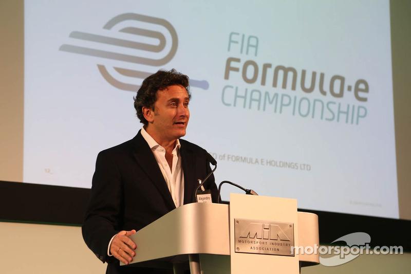 Alejandro Agag, CEO of Formula E Holdings