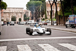 Test driver Lucas di Grassi, presentazione di Roma della Formula E