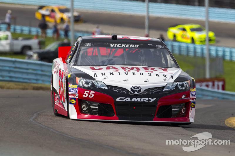 Brian Vickers, Michael Waltrip Racing Toyota