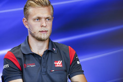 Kevin Magnussen, Haas F1 Team, basın toplantısında
