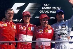 Podium: 1. Rubens Barrichello, Ferrari; 2. Michael Schumacher, Ferrari; 3. David Coulthard, McLaren