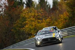 Stefan Karg, Aurel Schöller, Adam Christodoulou, Mercedes Benz AMG GT4
