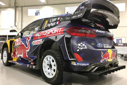Autosport International branded Ford Fiesta WRC, M-Sport
