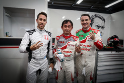Esteban Guerrieri, Honda Racing Team JAS, Honda Civic WTCC, Ryo Michigami, Honda Racing Team JAS, Honda Civic WTCC , Norbert Michelisz, Honda Racing Team JAS, Honda Civic WTCC