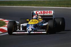Нельсон Пике, Williams FW11B Honda
