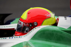 Rubens Barrichello, Honda RA108 avec un casque dédicacé à Ingo Hoffmann