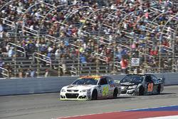 Chase Elliott, Hendrick Motorsports Chevrolet, Ty Dillon, Germain Racing Chevrolet
