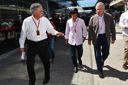 Chase Carey, Chief Executive Officer ed Executive Chairman Formula One Group ed Emerson Fittipaldi