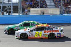 Chase Elliott, Hendrick Motorsports Chevrolet and Jeffrey Earnhardt, Circle Sport – The Motorsports Group Chevrolet