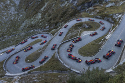 Red Bull Gotthard Pass demo run