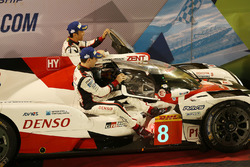 Racewinnaars #8 Toyota Gazoo Racing Toyota TS050-Hybrid: Sebastien Buemi, Anthony Davidson, Kazuki Nakajima