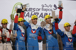 Podium LMP2: first place Julien Canal, Nicolas Prost, Bruno Senna, Vaillante Rebellion
