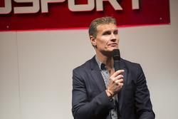 David Coulthard en el escenario Autosport