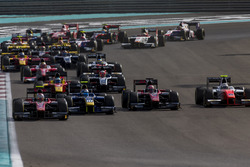 Alexander Albon, ART Grand Prix, Nicholas Latifi, DAMS, Nobuharu Matsushita, ART Grand Prix, Jordan King, MP Motorsport