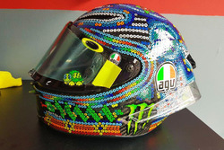 Rossi helm wintertest