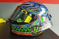 Helm Valentino Rossi - Tes MotoGP