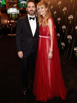 Jimmie Johnson y su esposa Chandra