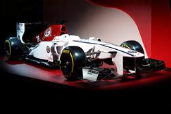 Alfa Romeo Sauber renk düzeni
