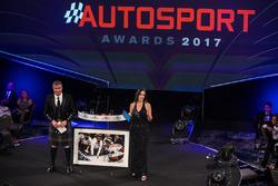 Nelson Piquet receives a lifetime achievement with a Schlegelmilch print