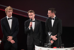Чемпионы WEC Брендон Хартли, Тимо Бернхард и Эрл Бамбер