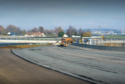 Bauarbeiten in Le Mans