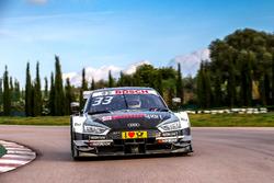 Audi RS 5 DTM pist testi