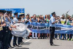 Orquesta de la fuerza aérea y el recuerdo del ARA San Juan
