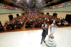 Takuma Sato Borg-Warner Trophy tour of Japan