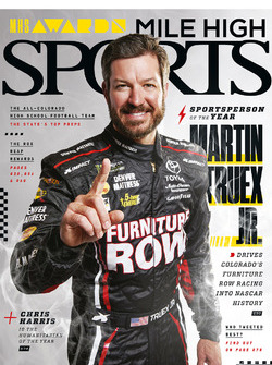 Martin Truex Jr. - Mile High Sports magazine