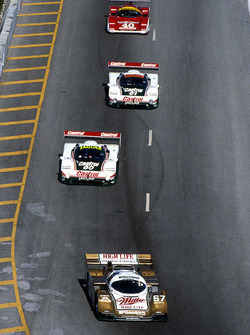 Bob Wollek, Derek Bell, John Andretti, Porsche 962