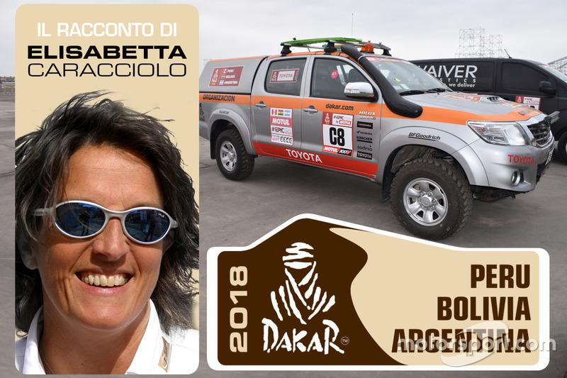 Dakar: al seguito della gara in macchina con la Toyota HDJ100