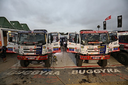 #505 Tatra Buggyra Racing: Martin Kolomy, Jiri Stross, Rostislav Plny, #532 Tatra Buggyra Racing: Martin Soltys, Tomas Sikola, Josef Kalina