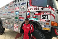 Yosimasha Sugawara, Hino Motors, el abuelo del Dakar (76 años)