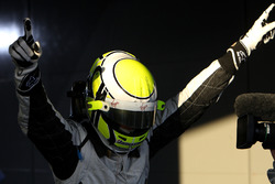 Winnaar Jenson Button, Brawn Grand Prix in parc ferme