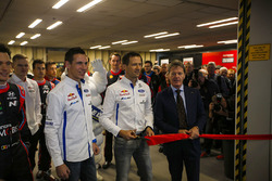 WRC drivers, including Thierry Neuville, Julien Ingrassia and Sébastien Ogier, as well as Malcolm Wilson, open the show