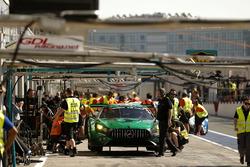 #2 Black Falcon Mercedes-AMG GT3: Abdulaziz Al Faisal, Hubert Haupt, Yelmer Buurman, Gabriele Piana