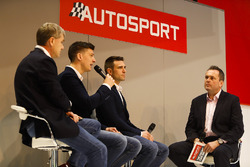 Ferrari WEC champions James Calado and Alessandro Pier Guidi talk to Henry Hope-Frost on the Autosport Stage