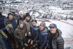 Brendon Hartley, Sebastien Ogier, Dani Pedrosa, Pierre Gasly, Pol Espargaro, Marc Marquez, Bradley Smith